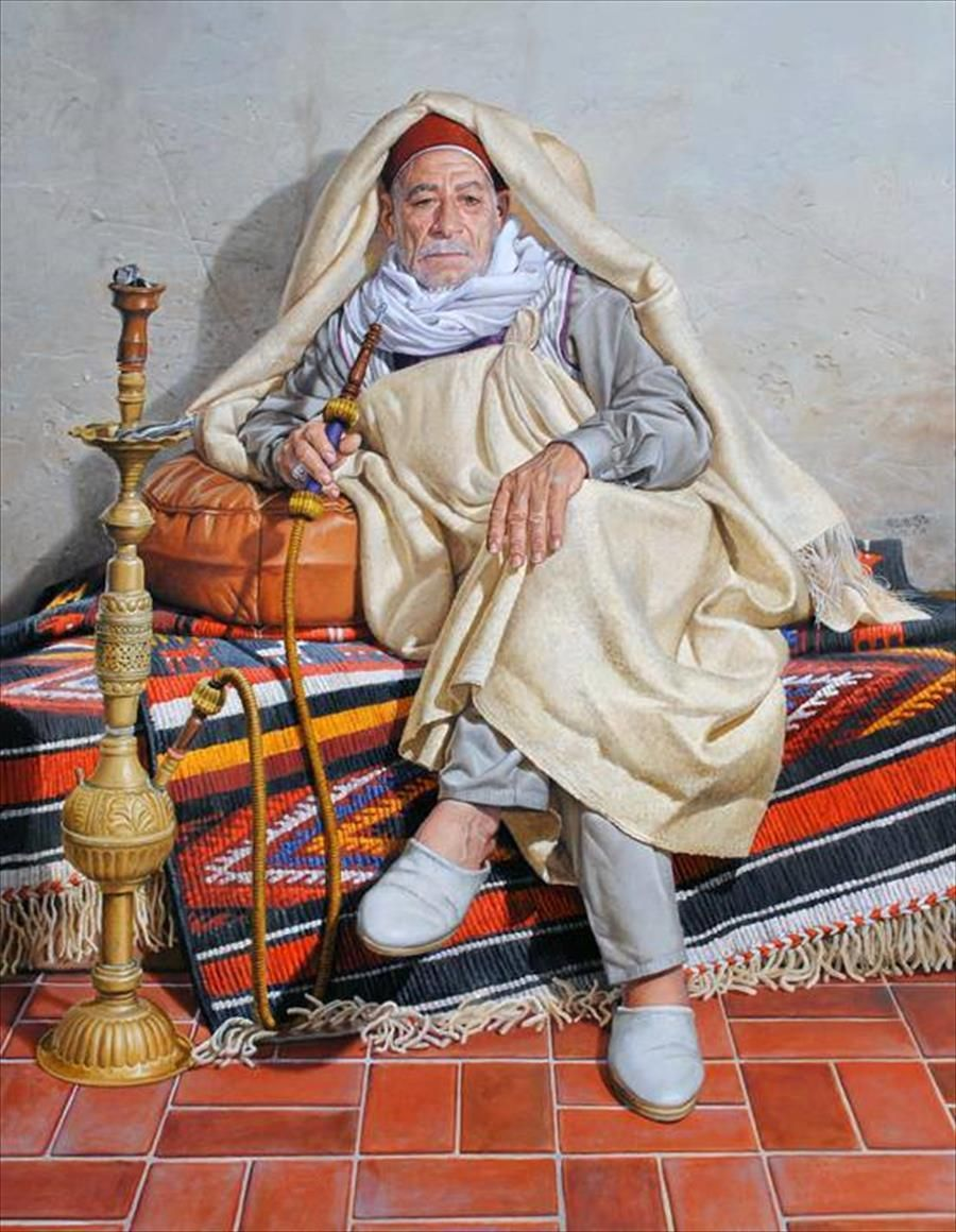 Men and argela libyan clothing africa art art