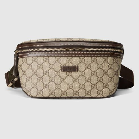 968a6f4fe6e6c0 GUCCI Gg Supreme Canvas Belt Bag. #gucci #bags #leather #belt bags #canvas  #. Find this Pin and ...