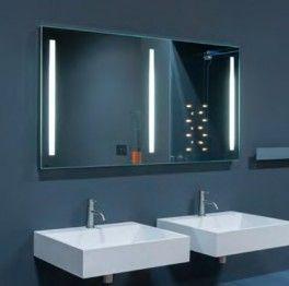 Badezimmerspiegel Mit Ablage Und Licht