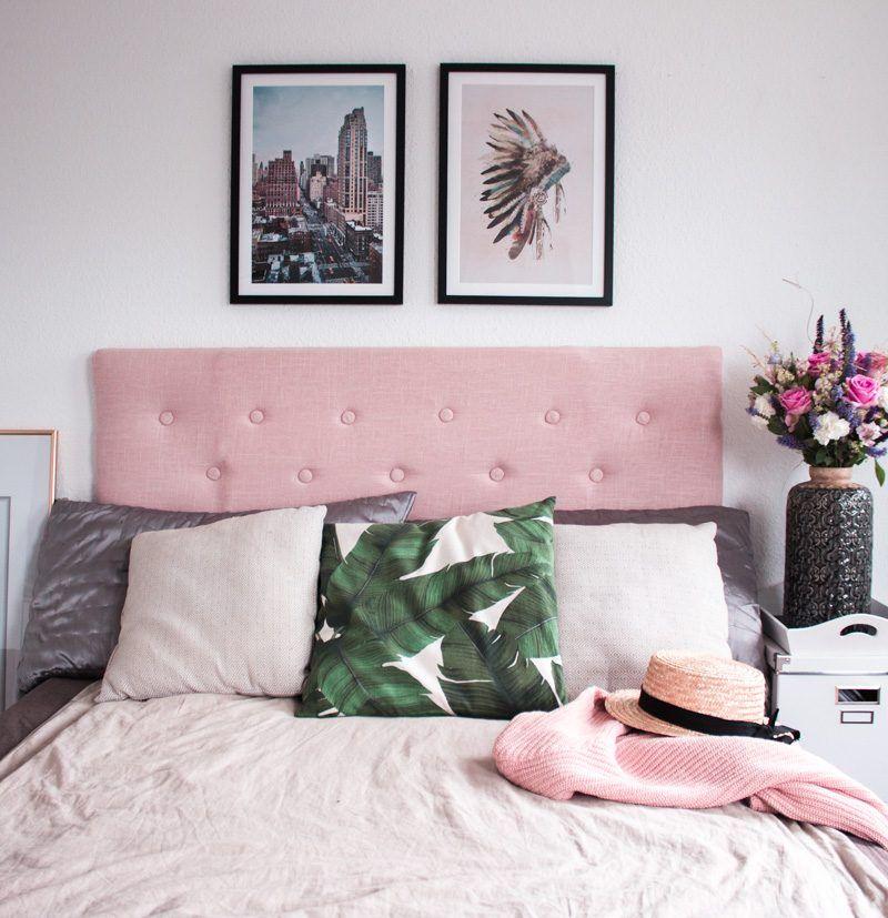 DIY   Wie Ihr Euer Eigenes, Gepolstertes Kopfteil Fürs Bett Selberbauen  Könnt   Www.