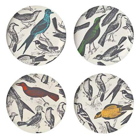Bird Theme Dinner Plates.