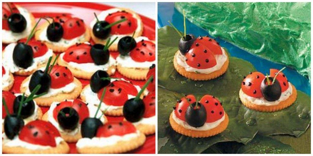 Lady Bug Baby Shower Recipe Menu Food Strawberries