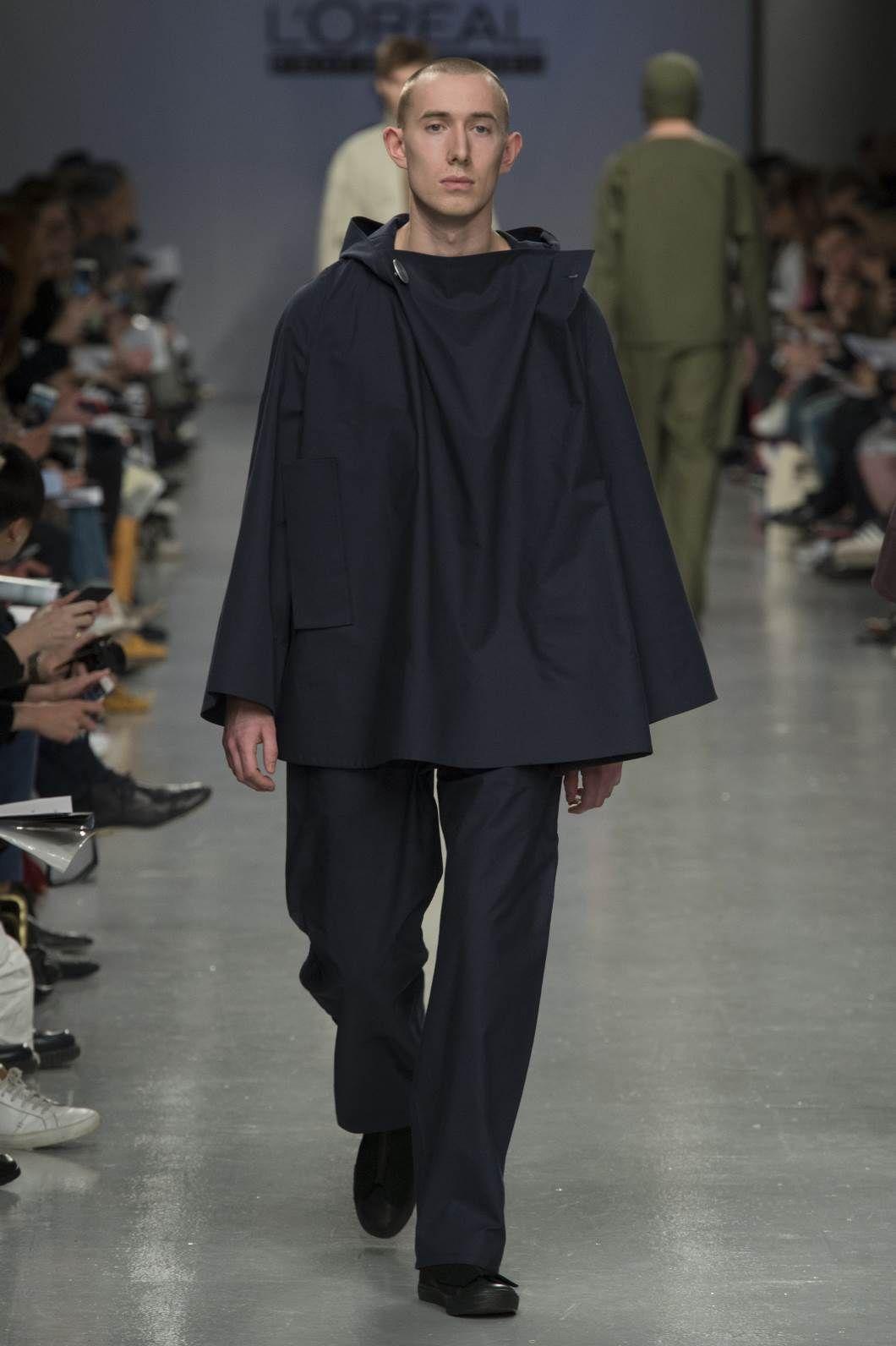 Male Fashion Trends: Central Saint Martins Fall-Winter 2017 - London Fashion Week