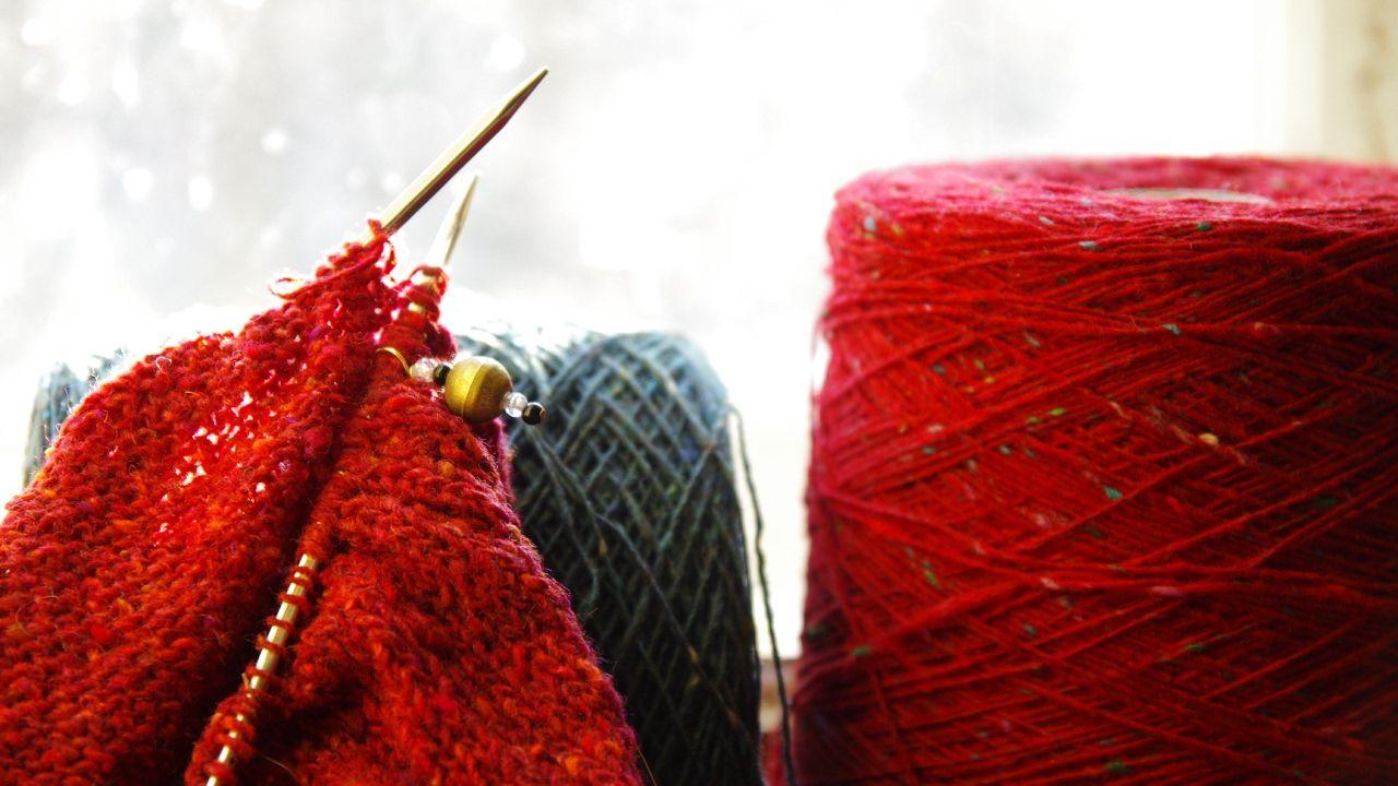 вязания из пряжи с картинками шаттерсток