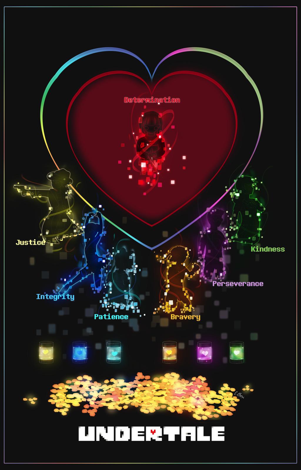 Undertale Poster Empty Souls By Enneworld Undertale Undertale Art Undertale Game