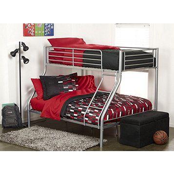 Alcove Trio Bunk Bed Bed Interior Bunk Beds Guest Bedroom Decor