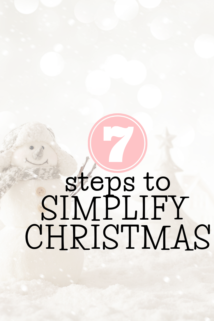8 Steps to Simplify Christmas Live Life Organized in