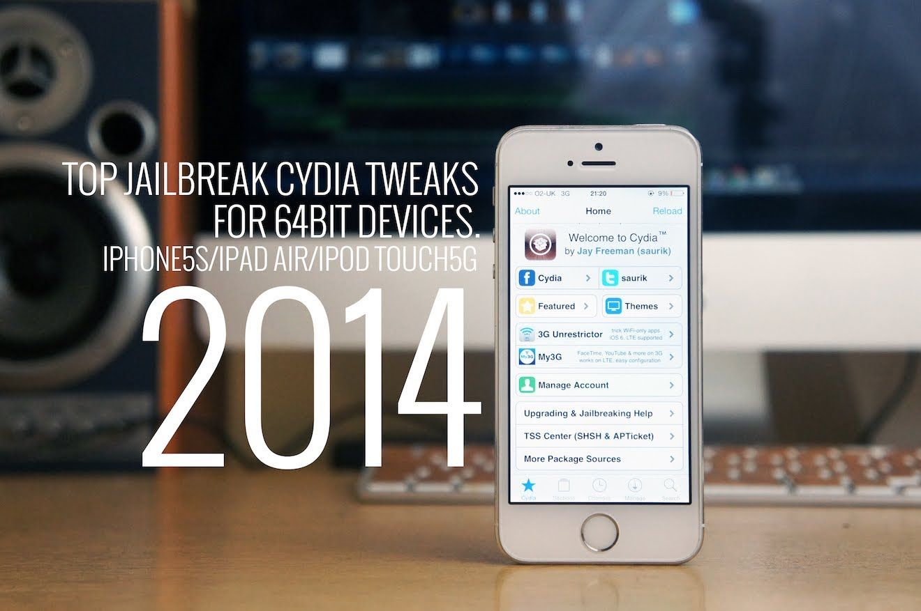 Top Ios7 Jailbreak Cydia Tweaks For Iphone5s Ipadair Ipad Mini 2 64bit Ipad Ipod Ipad Mini