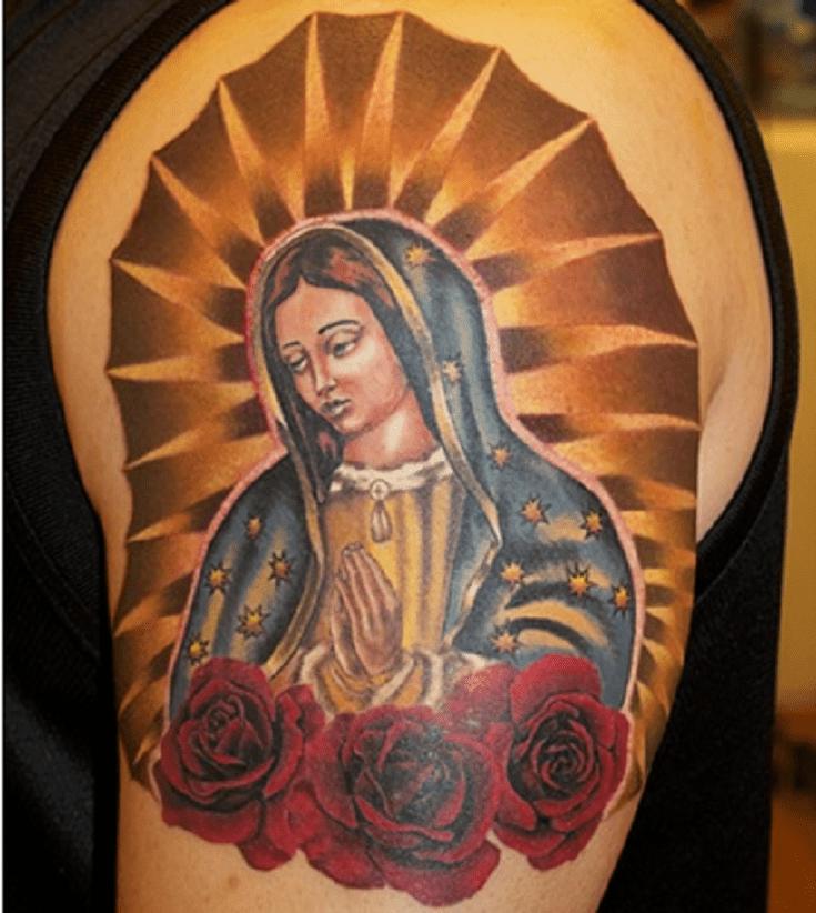 5 tatuajes de la virgen de guadalupe madre de todos los hispanos icono religioso y latino. Black Bedroom Furniture Sets. Home Design Ideas