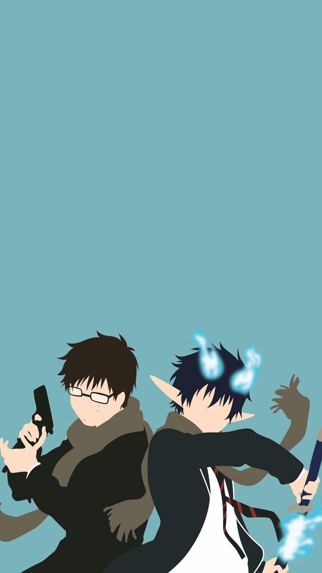 Yukio Rin In 2020 Blue Exorcist Blue Exorcist Anime Blue Exorcist Yukio