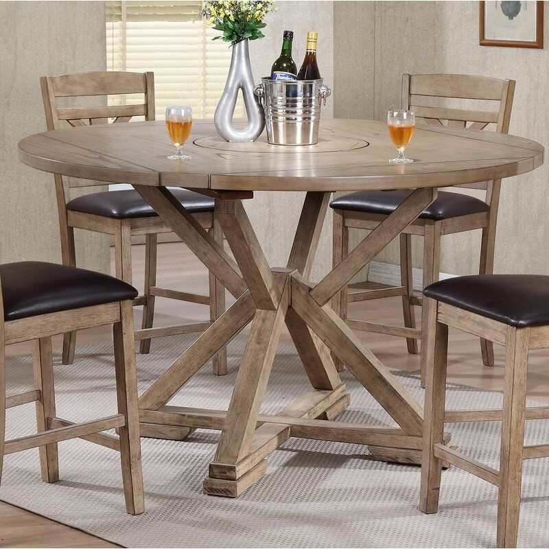 Round Counter Height Table That Seats At Least 6 Dining Table Dining Table In Kitchen Drop Leaf Dining Table