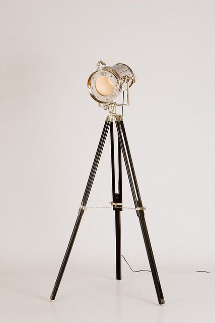 Nautical Search Light Tripod Floor Lamp Lamp Floor