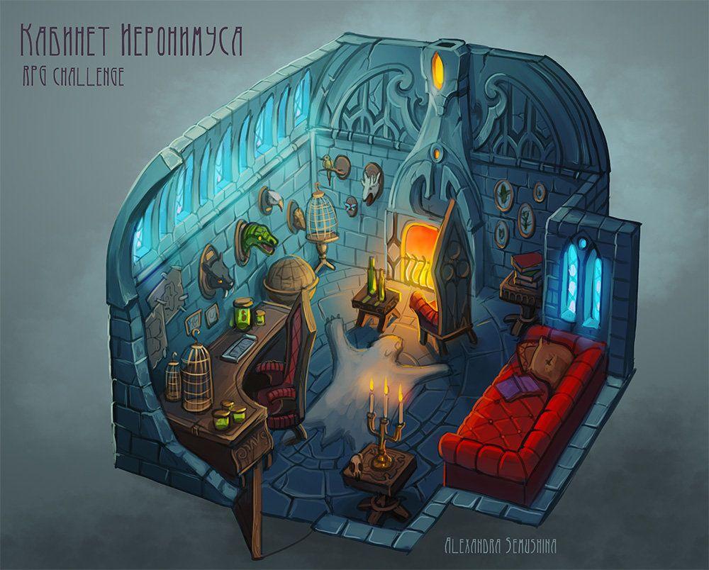 ArtStation - RPG challenge, Alexandra Semushina