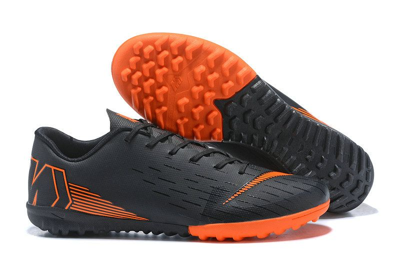 334758c2f Men Cheap Nike Mercurial Superfly VI TF 2018 World Cup Coal Black Orange
