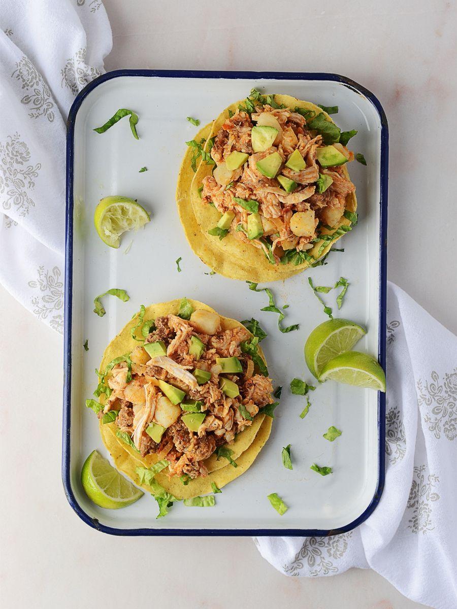 Chicken tinga tinga de pollo mexican food recipes