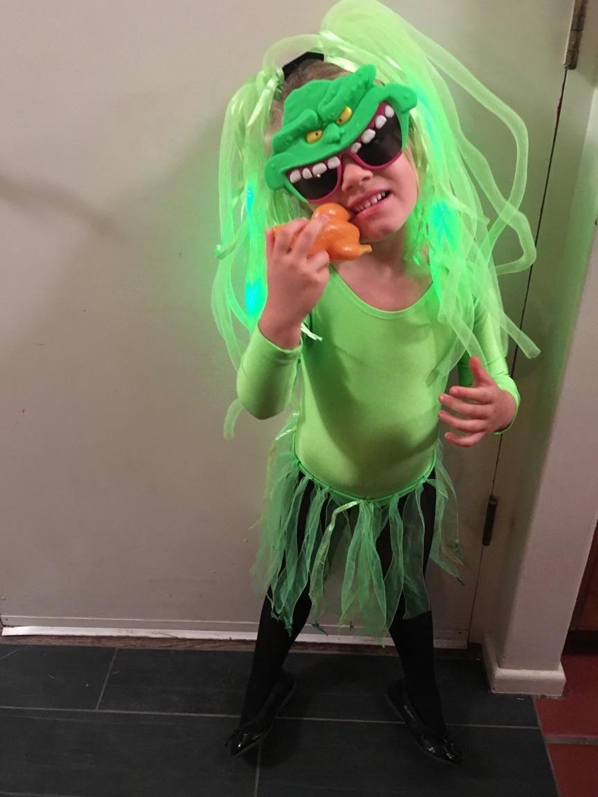 Slimer! Ghostbusters Slimer costume, Diy costumes kids