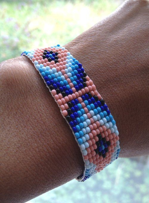 Genuine Navajo Beaded Arrow Bracelet