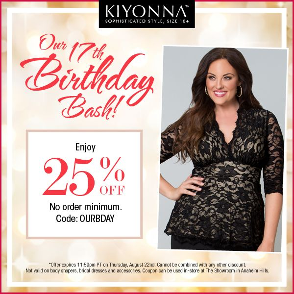 #Plussize clothing  for full figured women sizes 12W to 44W+  #PlanetGoldilocks http://www.planetgoldilocks.com/plussize_clothing.htm  25% off all orders at Kiyonna.com - no minimum #COUPON CODE: OURBDAY Expires: 8/22/2013 *Offer ends August 22, 2013 at 11:59pm PT. Cannot be combined with any other discount. Not valid on body shapers, bridal dresses and accessories. .--Secure checkout #fashion for plussize clothing