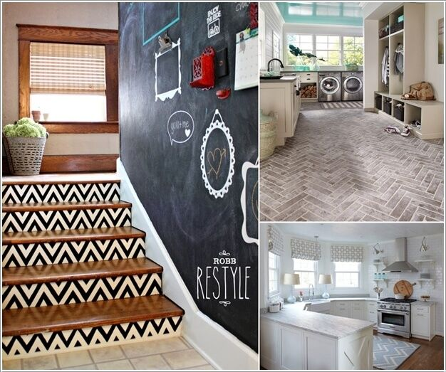15 Uniquely Chic Ways to Decorate Your Home with Chevron Pattern a