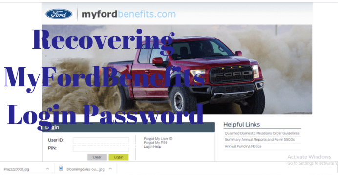 Ford Paystub Change Password With Images Lower Case Letters