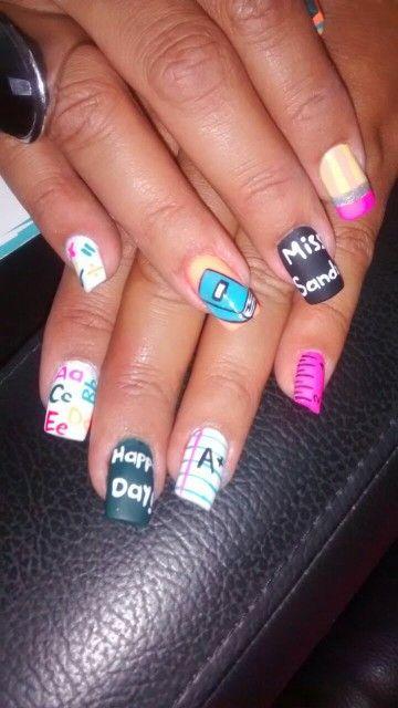 Teacher's nails
