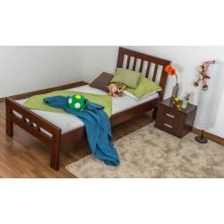 Reduced Youth Beds Children 039 S Bed Youth Bed Easy Premium Line K8 Solid Beech Wood Painted Dark Brown Lyin In 2020 Bed Decor Kid Beds Home Decor Signs