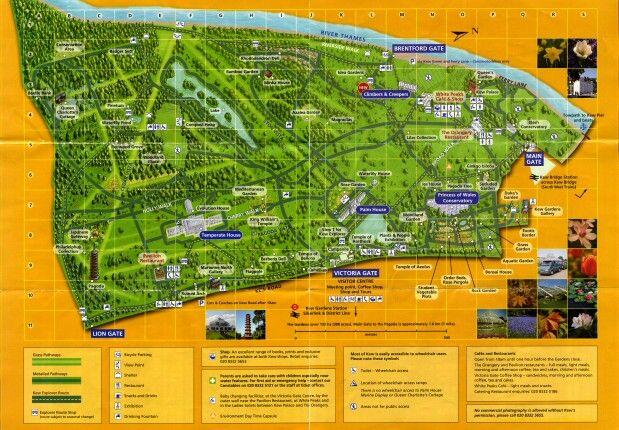 Kew Gardens Map Kew Gardens | | t r a v e l t h e w o r l d | | Kew gardens map