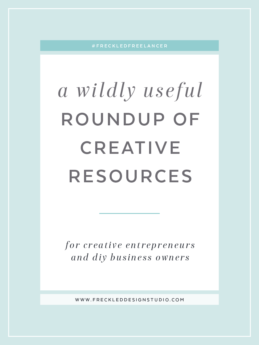 A wildly useful roundup of creative resources for creative entrepreneurs and DIY business owners