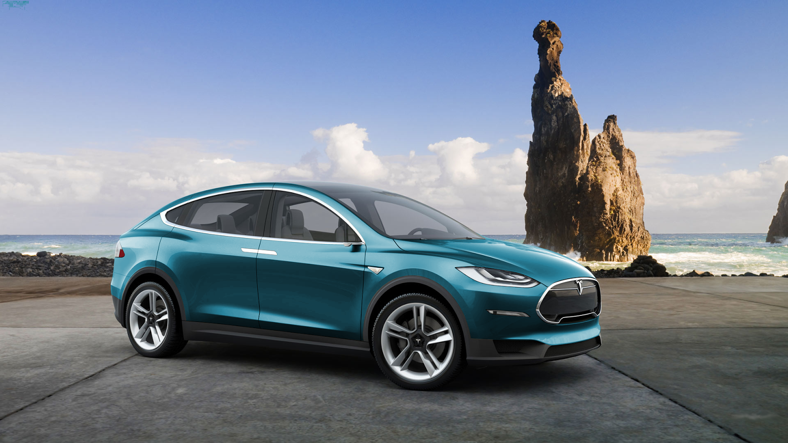 is this what the tesla model c electric car will look like costing only 29 990 it is primed. Black Bedroom Furniture Sets. Home Design Ideas