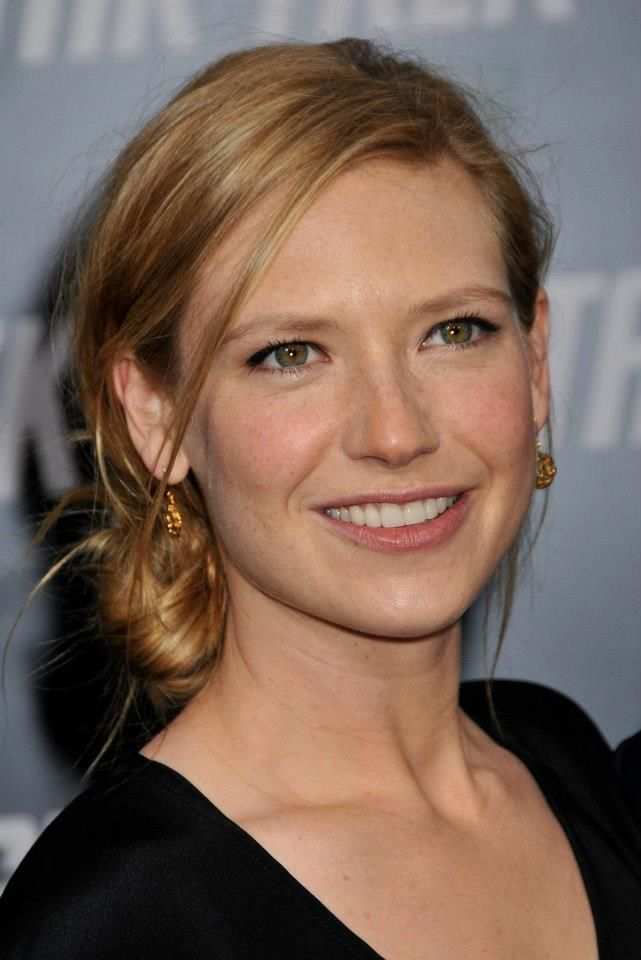 My inspiration for Natalie Udall - real life Anna Torv