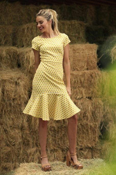 Arrow Dress Yellow | September Skies Collections