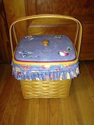 Longaberger Grandma Bonnie's Two Pie Basket