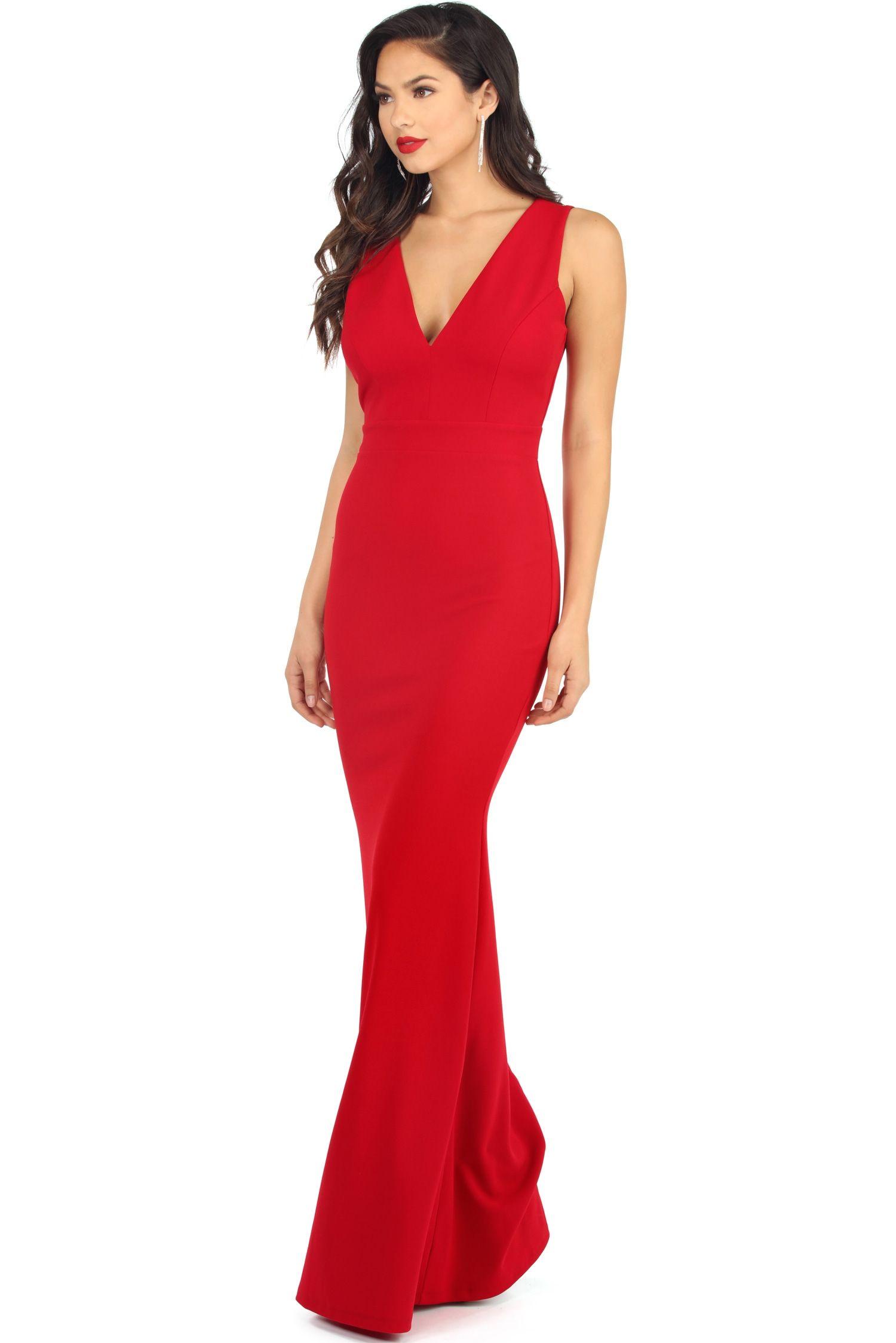 Windsor Red Dress
