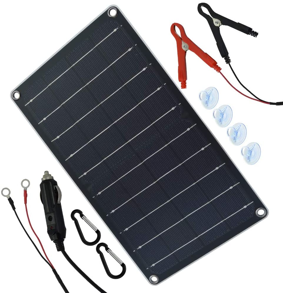 Amazon Com Tp Solar 10 Watt 12 Volt Solar Panel Car Battery Charger 10w 12v Portable Solar Trickl In 2020 12 Volt Solar Panels Car Battery Charger Solar Panel Charger