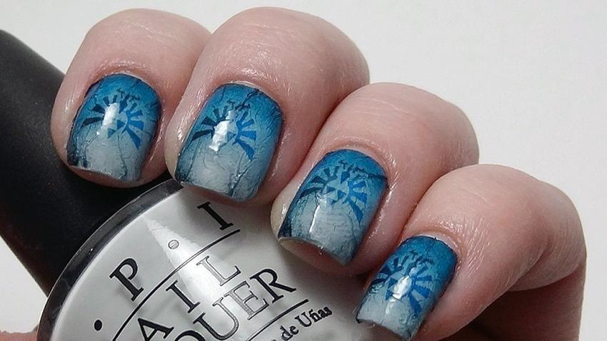 Zelda Nail Art