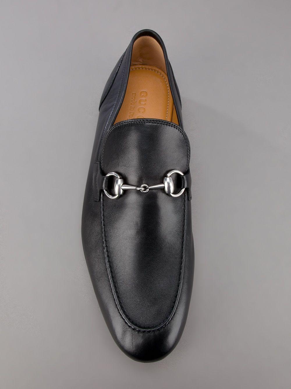 gucci leather loafer in black for men erkek pinterest. Black Bedroom Furniture Sets. Home Design Ideas