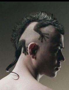 Best Lizard Mohawk Haircut Design Making The Cut Hair Cuts Cool