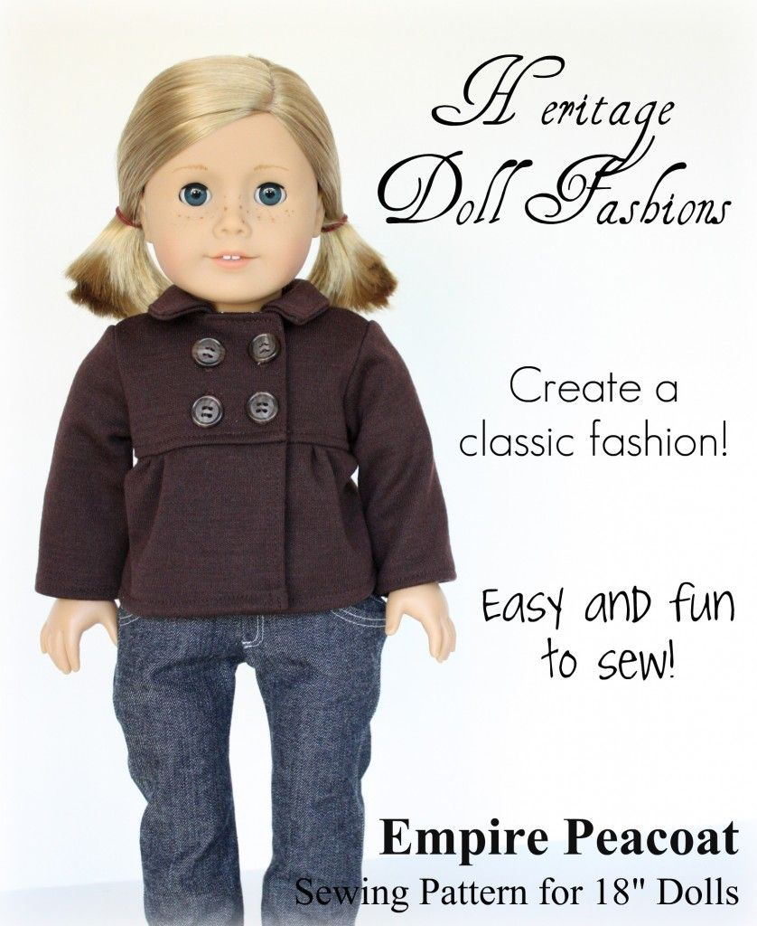 Unique American Doll Sewing Patterns Adornment - Blanket Knitting ...