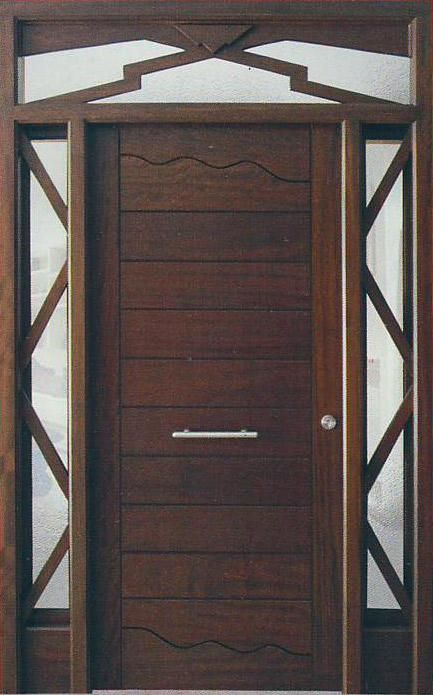 Puertas modernas 2015 buscar con google puertas tall for Modelos de puertas de madera para puerta principal