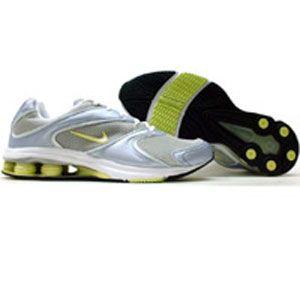 Nike Womens Shox Allegria (propoise / white / lymon / silver) 308769-411
