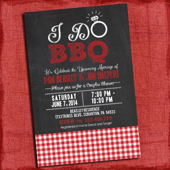 printable i do bbq barbecue couples coed wedding by puzzleprints