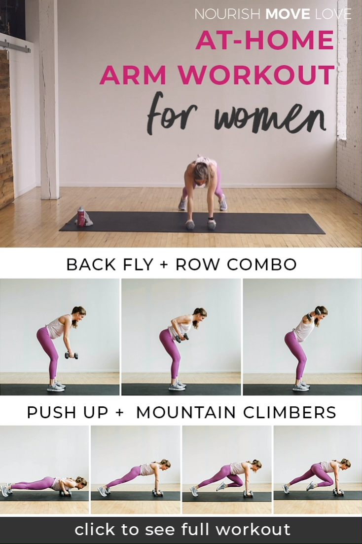 At-Home Arm Workout for Women