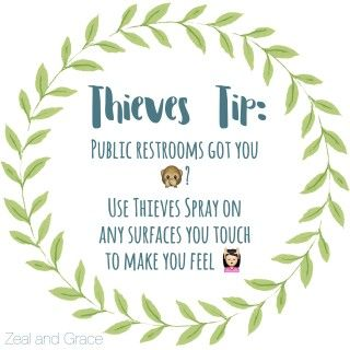 Find our favorite Thieves tips at Zeal and Grace!