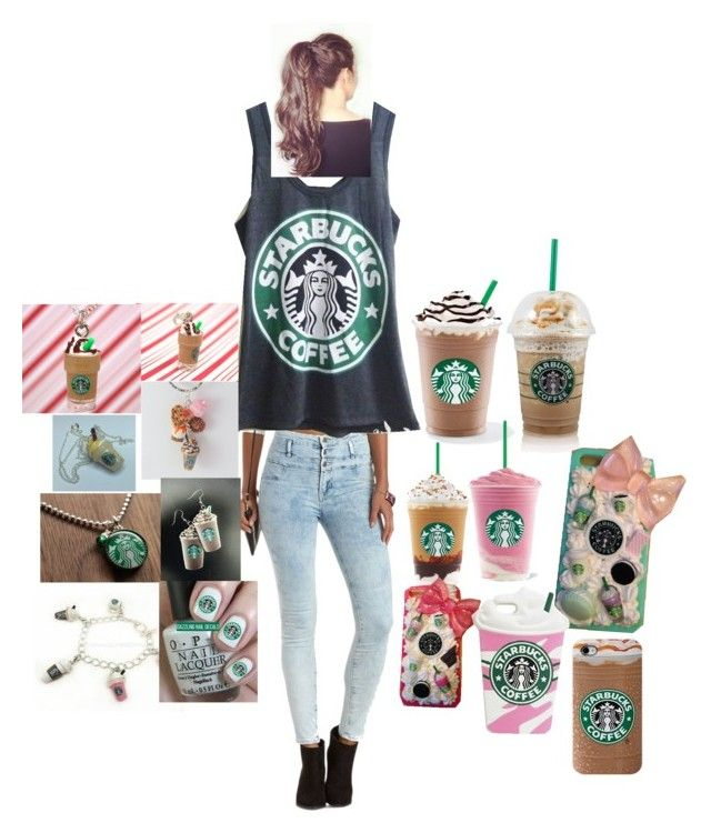 """""""Starbucks Fan"""" by ximena-c ❤ liked on Polyvore"""