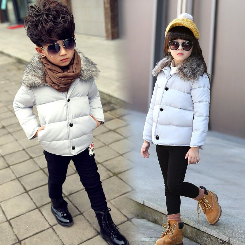 8bf951ec9323 Click to Buy    2016 winter new children s clothing girls And boys ...