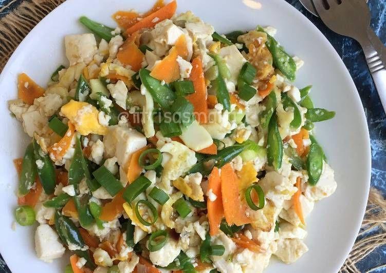 Resep Orak Arik Tahu Sayuran Oleh Fitri Sasmaya Resep Sayuran Resep Masakan Resep Makanan
