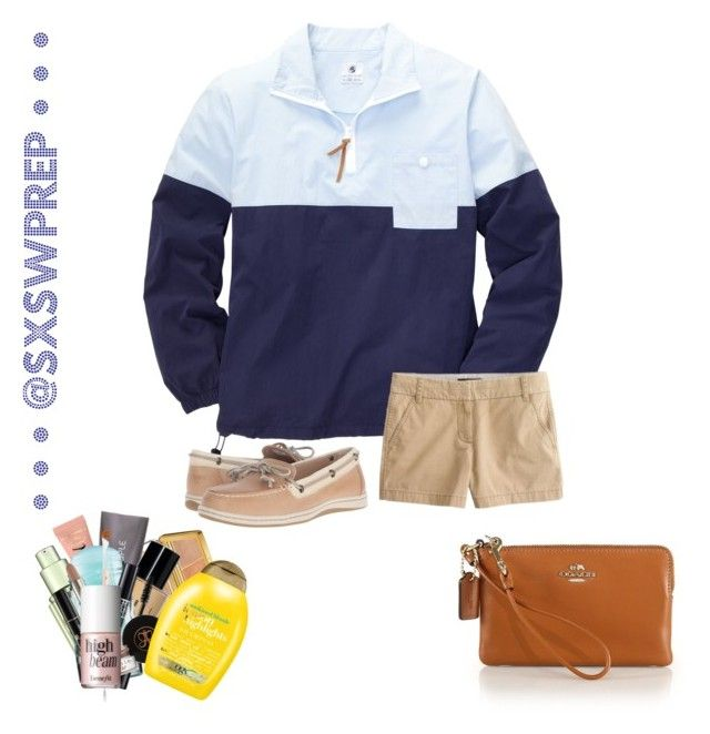 """""""Sailing Style"""" by sxswprep on Polyvore featuring Estée Lauder, Benefit, Too Faced Cosmetics, W3LL People, Bobbi Brown Cosmetics, MILK MAKEUP, Christian Dior, Anastasia Beverly Hills, Organix and Lancôme"""