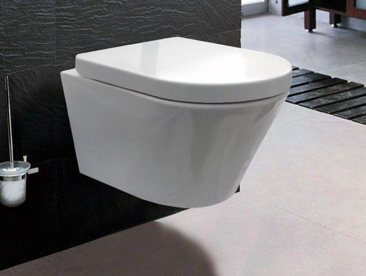 Bernstein Luxus Wand Hange Wc Toilette Softclose Ch1088 Badewelt Wand Wc Wand Wc Toiletten Badezimmer Schwarz