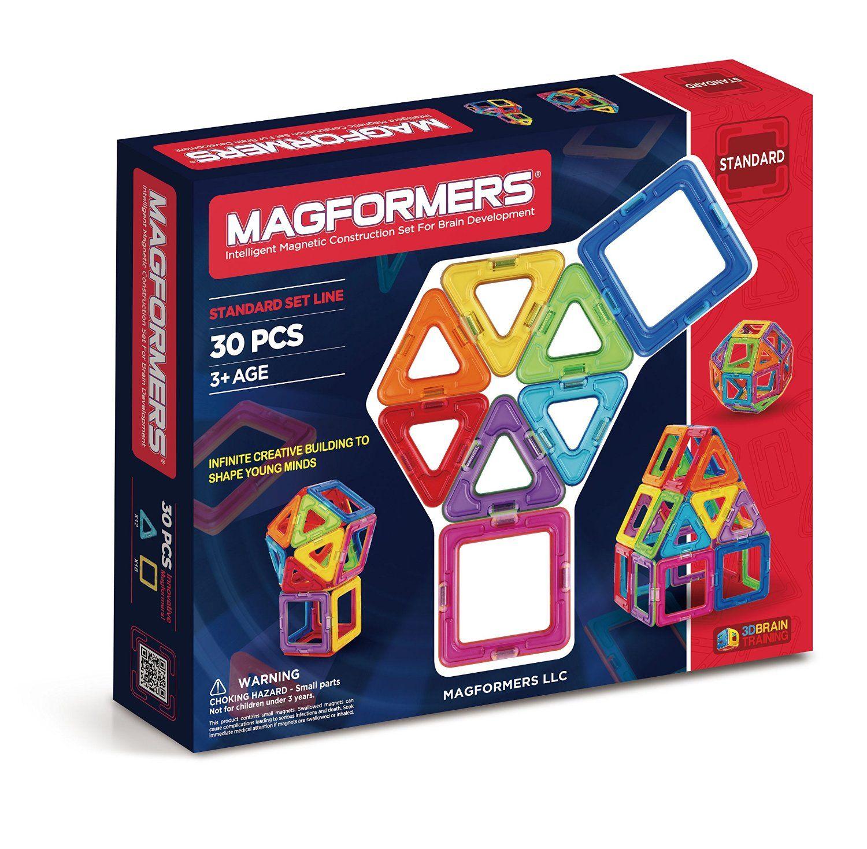 Magnetic    Building      Blocks Magnetic    Construction  STEM Toy Set Magformers Figure Plus Construction Educational  Magnetic    Tiles Kit 6 Pieces