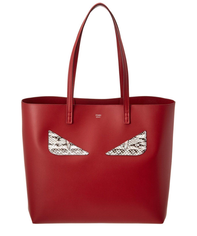 dd37516b5fc0 FENDI Fendi Bag Bugs Leather Roll Bag .  fendi  totes